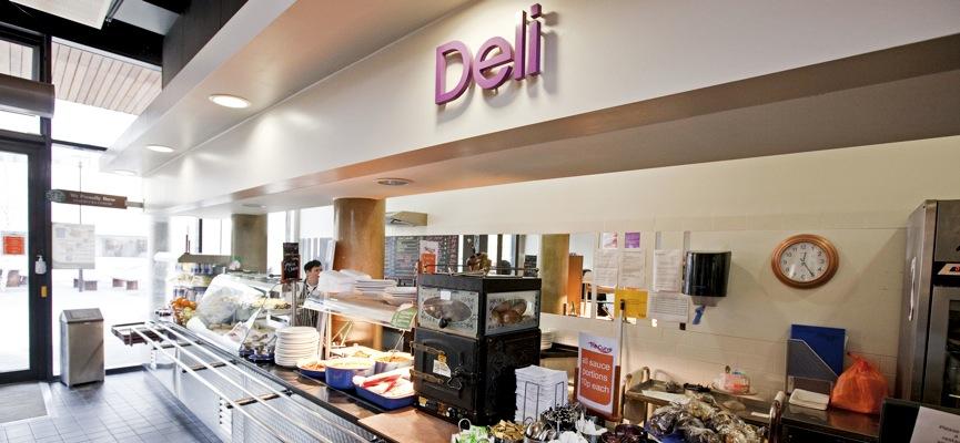 The Curve Restaurant Deli.